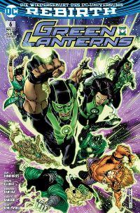 Green Lanterns #6: Am Anfang der Zeit, Rechte bei Panini Comics
