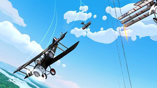 Skies of Fury DX Bild 1