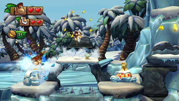 Donkey Kong Country Tropical Freeze Bild 1