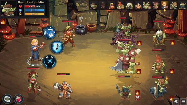 Dungeon Rushers Crawler RPG Bild 2