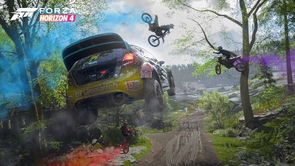 Forza Horizon 4 Jump