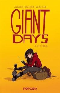 Giant Days #1: Auf sie mit Gebrüll!, Rechte bei popcom
