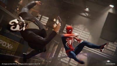 Marvel's Spider-Man, Rechte bei Sony Interactive Entertainment / Marvel Comics