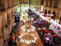 Game City im Rathaus - Blick von oben