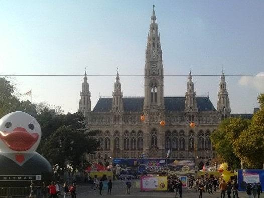 Game City 2018 am Rathausplatz