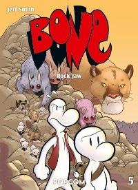 Bone #5: Rock Jaw, Rechte bei popcom