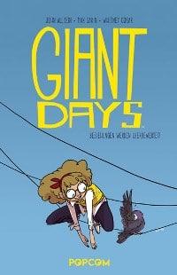 Giant Days #3: Beziehungen werden überbewertet!, Rechte bei popcom