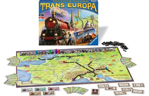 Trans Europa - Spielmaterial