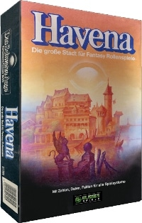Havena Stadtbox - Kaiser-Retro-Edition (remastered), Rechte bei Ulisses Spiele
