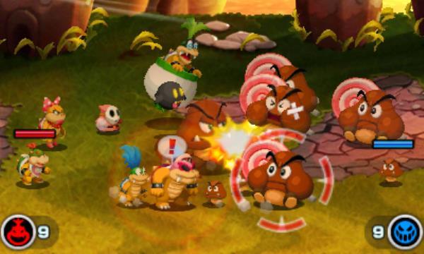 Mario und Luigi Abenteuer Bowser AB Bild 3