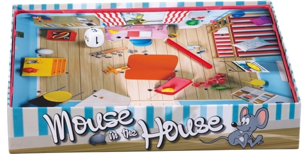 Mouse in the House - Spielaufbau