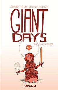 Giant Days #5: Wenn sich eine Tür schließt, Rechte bei popcom