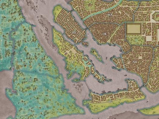 Havena – Stadtkartenset