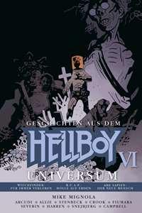 Hellboy-Universum #6 - Geschichten aus dem Hellboy Universum, Rechte bei cross cult