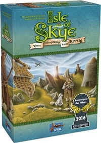 Isle of Skye, Rechte bei Lookout Games