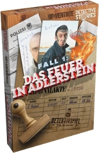 Detective Stories - Fall 1: Das Feuer in Adlerstein, Rechte bei Asmodee / idventures