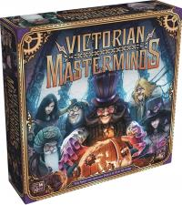 VIctorian Masterminds - Cover, Rechte bei Asmodee