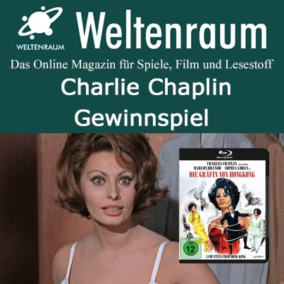 Charlie Chaplin Gewinnspiel